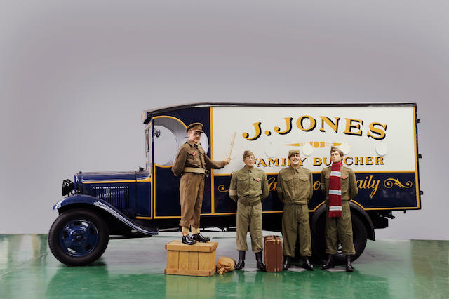 1935 Ford Box Van (Dad's Army)