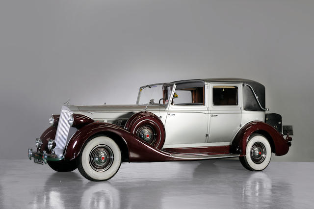 1937 Packard Super 8 Brewster Town