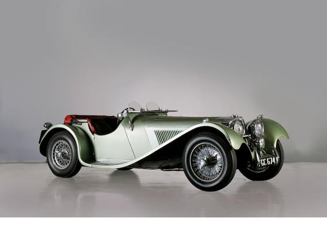 1938 Jaguar SS100 3.5-litre Sports
