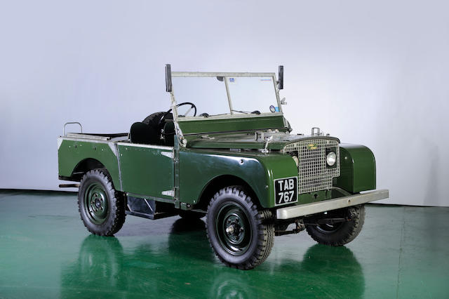 "Rolls-Royce Engined,1950 Land Rover 81"" Prototype  Chassis no. RO61 04618 Engine no. 596"