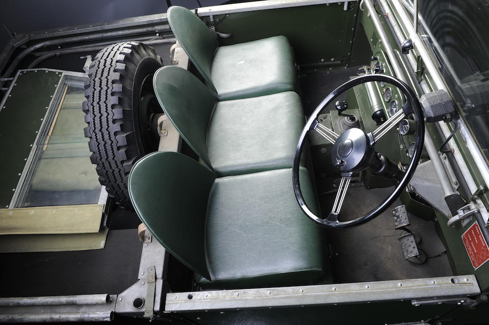 """Rolls-Royce Engined,1950 Land Rover 81"""" Prototype  Chassis no. RO61 04618 Engine no. 596"""