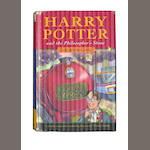 ROWLING (J.K.) Harry Potter and the Philosopher's Stone, FIRST EDITION, 1997