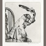 GOODEN (STEPHEN) DODGSON (CAMPBELL) An Iconography of the Engravings of Stephen Gooden, NUMBER 93 OF 160 SPECIALLY BOUND COPIES, WITH AN ORIGINAL PROOF FRONTISPIECE SIGNED BY GOODEN, 1944