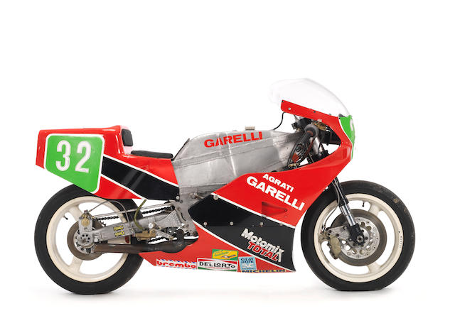 c.1985 Garelli 250cc Grand Prix Racing Motorcycle Frame no. AG.250.GP.002.IT