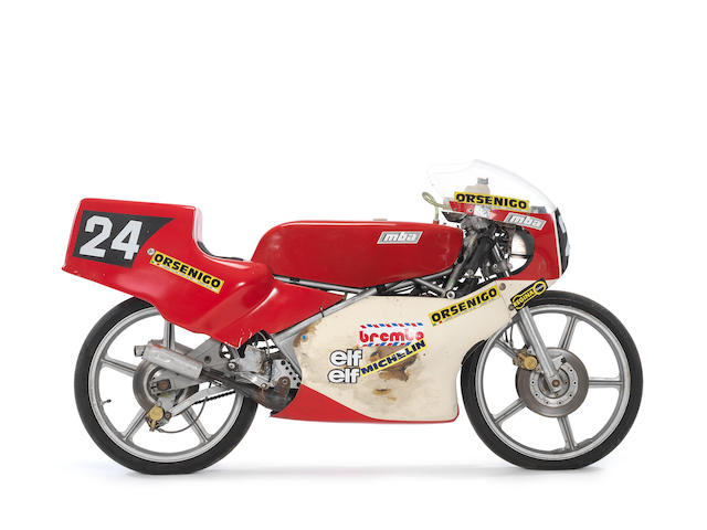 1985 Garelli MBA 125 Grand Prix