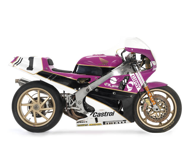 The ex-Fred Merkel, World Superbike Championship,1989/90 Honda VFR750R RC30 Production Racing Motorcycle Frame no. HMRC30-2000429