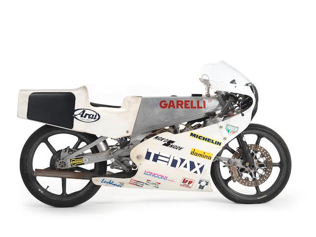 c.1988 Garelli 125cc Grand Prix Racing Motorcycle Frame no. 004