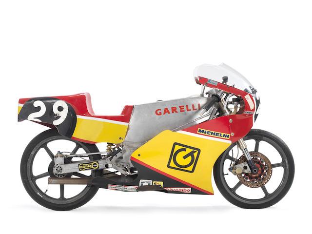 1989 Garelli 125cc Grand Prix Racing Motorcycle Frame no. 004-1