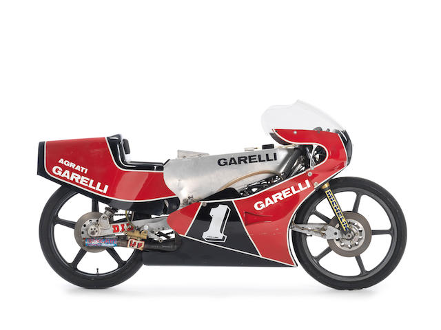 c.1983/84 Garelli 125cc Grand Prix Racing Motorcycle Frame no. AG-125GP-005 IT