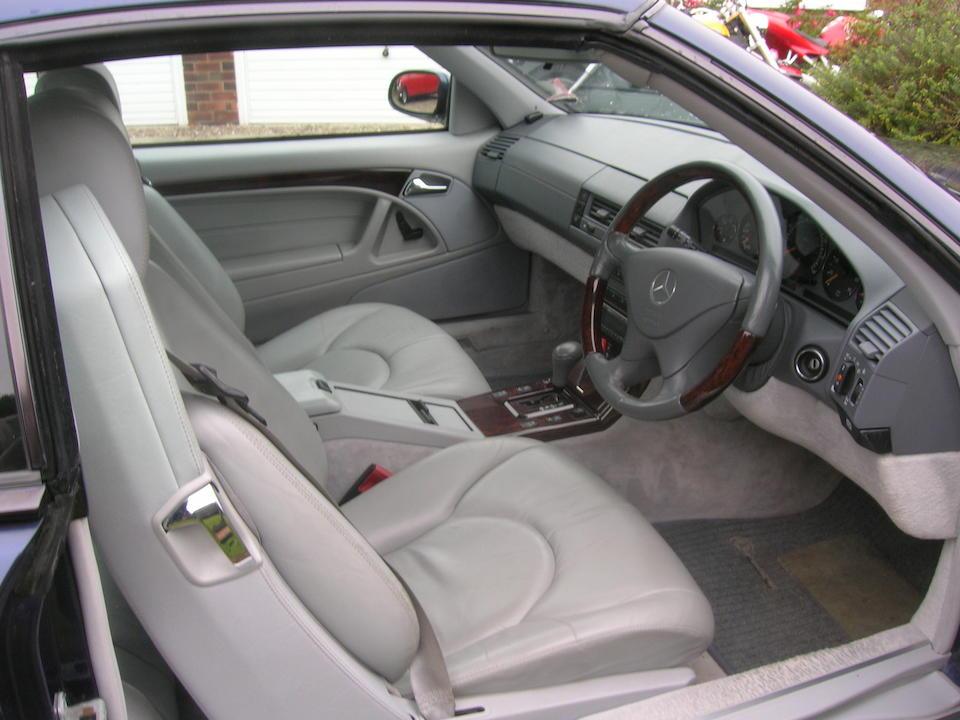 1999 Mercedes-Benz SL280 Convertible, Chassis no. WDB1290592F176641 Engine no. 1129233D313441