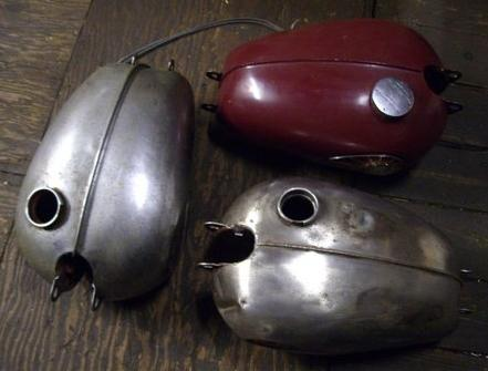 Assorted post-War BSA motorcycle spares,