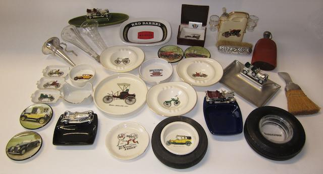 Assorted motoring collectables and automobilia,