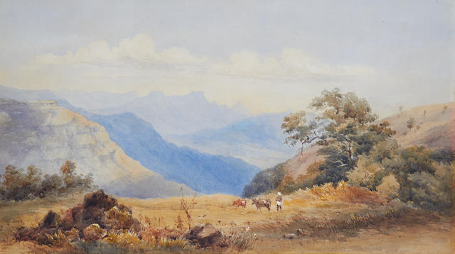 English School, 19th Century Hills above Bombay