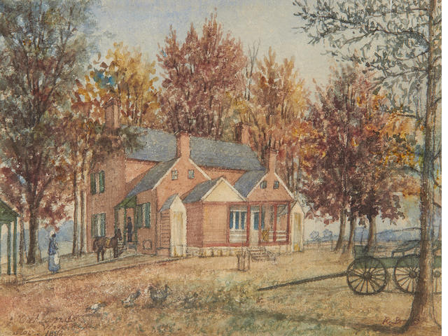 R. Brooks (North American, late 19th Century) Oaklands, Virginia