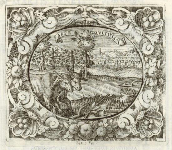 BOLDONI (OTTAVIO) Theatrum temporarneum aeternitati Caesaris Montii, 1636