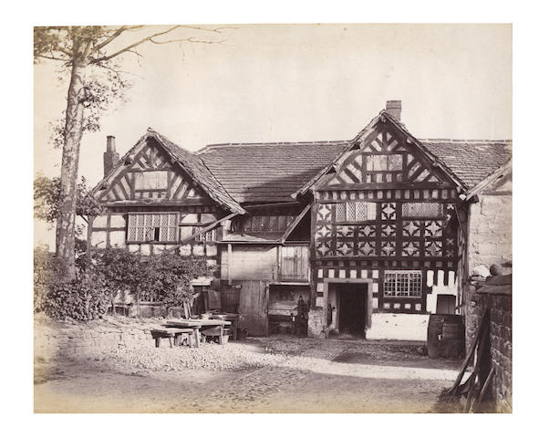 LANCASHIRE and CHESHIRE [Old and Celebrated Halls of Lancashire and Cheshire], 73 images,[c.1887]