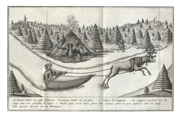 OUTHIER (REGINALD) Journal d'un voyage au Nord, 1744