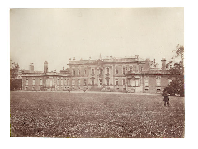 "WENTWORTH WOODHOUSE An album of 19 ""Views of Wentworth, the Seat of the Right Hon. The Earl of Fitzwilliam"", [c.1880]"