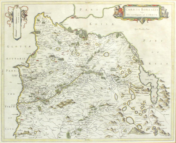 MAPS - CARRICK PONT (TIMOTHY) Caricta Borealis, The Northpart of Carrick