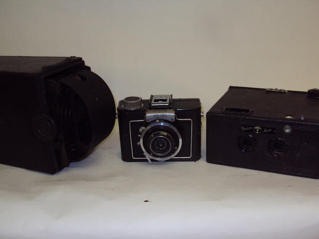 A collection of various cameras