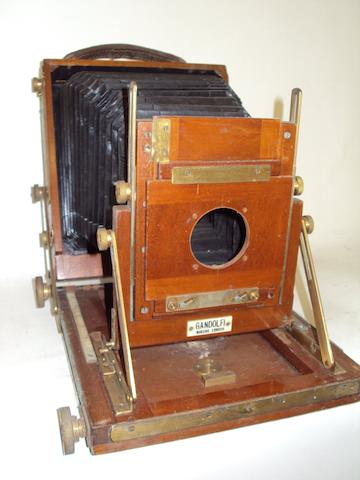 A Gandolfi Half Plate field camera