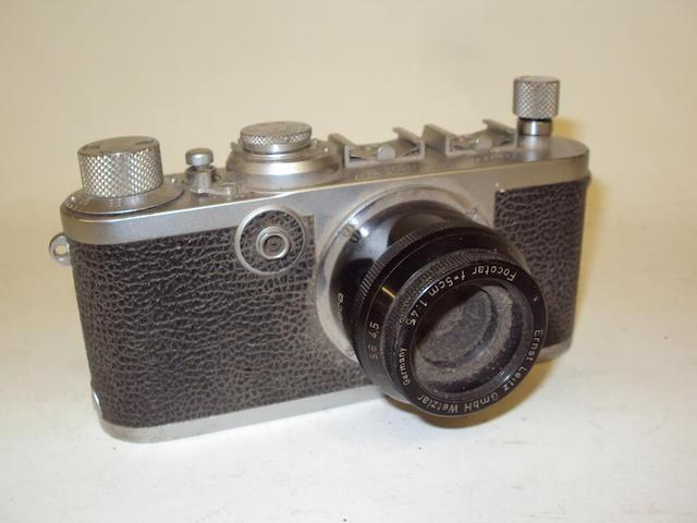 A Leica If camera, No.789592