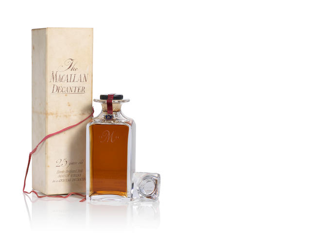 The Macallan Decanter- 1965- 25 year old