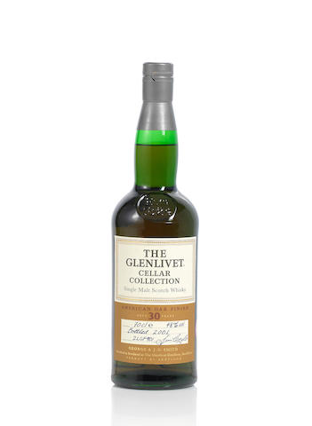 Glenlivet Cellar Collection- 30 year old