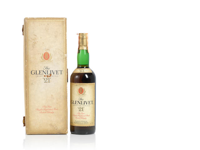 Glenlivet- 21 year old