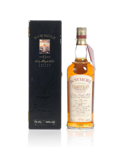 Bowmore- 1973- 21 year old