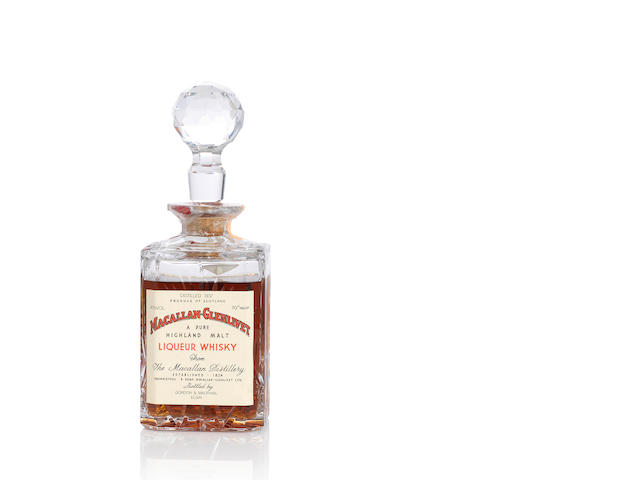 Macallan-Glenlivet Decanter- 1937