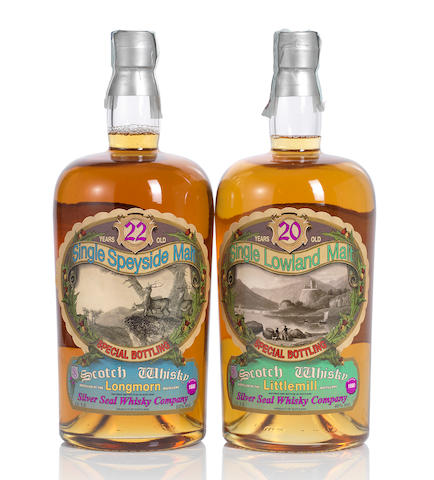 Longmorn- 1988- 22 year old (1 magnum) <BR /> Littlemill- 1990- 20 year old (1 magnum)