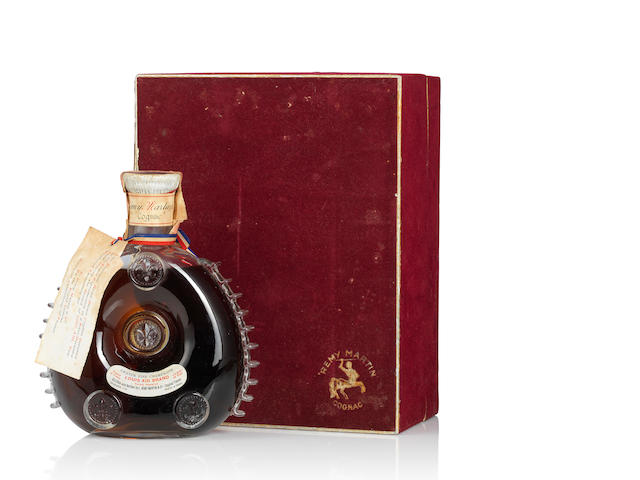 Rémy Martin Louis XIII (Velvet Red Box) 1950s