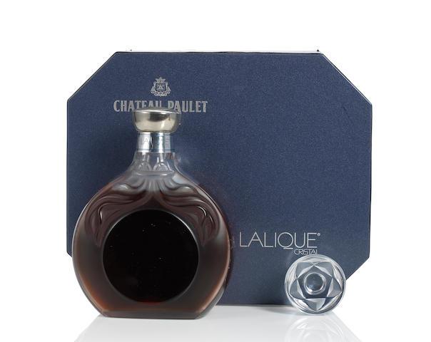 Chateau Paulet Cognac-Lalique Cristal