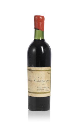 Pierre Fougerat Fine Champagne Cognac 1920