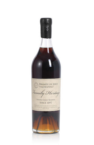 Valdespino Family Heritage Brandy