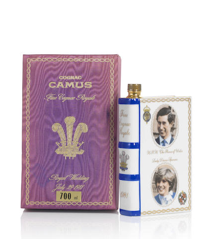 Camus Cognac Royal Wedding 1981