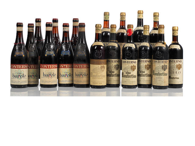 A collection of Barolo 1945-2006 (25)