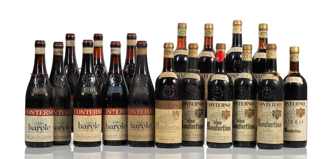 A collection of Barolo, Monfortino Riserva 1947-2002 (25)