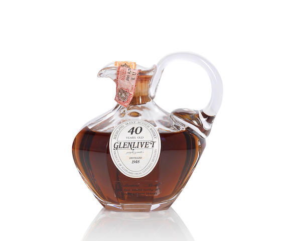 Glenlivet Decanter- 1948- 40 year old