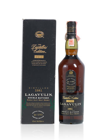 Lagavulin-Double Matured- 1981