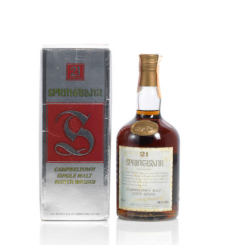 Springbank- 21 year old