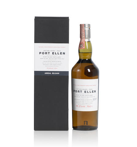 Port Ellen-1st Annual Release- 1979- 22 year old