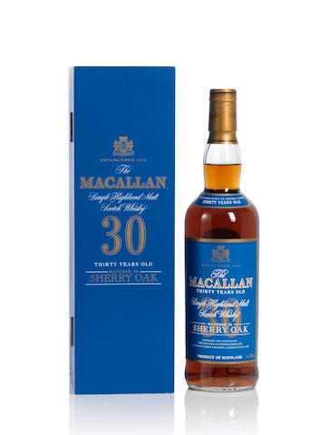 The Macallan-Blue Label- 30 year old