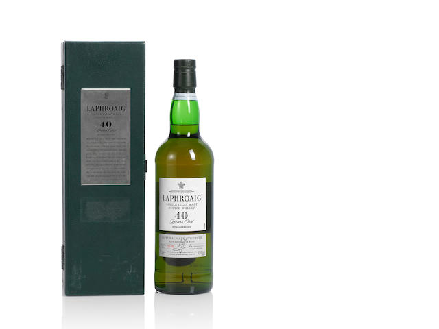 Laphroaig- 40 year old