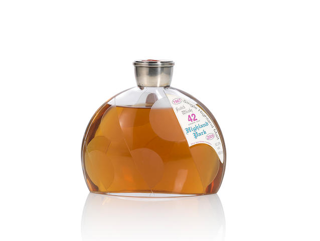 Highland Park Decanter- 1967- 42 year old