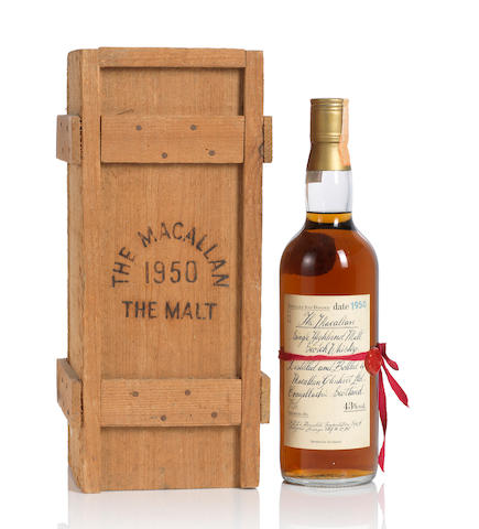 The Macallan Reb Ribbon- 1950