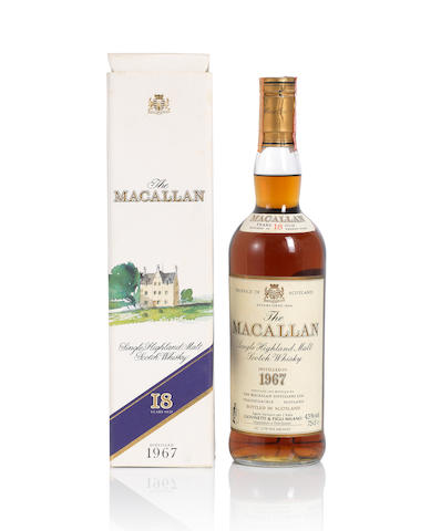 The Macallan- 1967- 18 year old