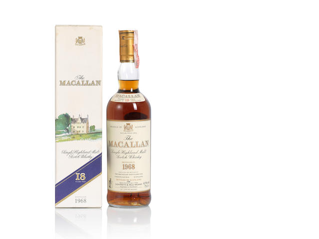 The Macallan- 1968- 18 year old