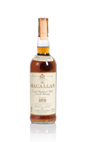 The Macallan- 1970- 18 year old